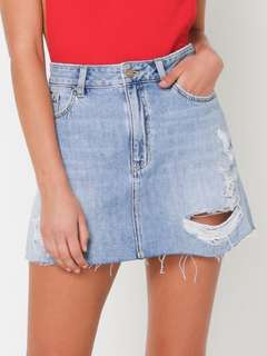 Lee Denim Lola Mini Skirt