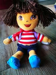 Dora The Explorer TY Beanie Bears