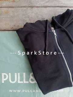 Pull&Bear Jaket Hoodie Dengan Zipper