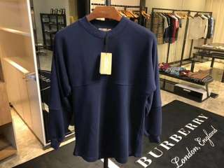 Burberry 18年最新徽標寬鬆版運動衛衣,男女同款 S-XL碼 $2790 保證100%Real & New