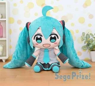 "🚚 Hatsune Miku Series Mega Jumbo Plush Doll ""Hatsune Miku"" feat.CHANxCO"