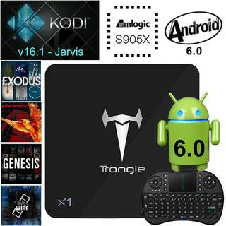Trongle X1 Android TV Box!!