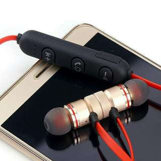 Magnetic headset bluetooth