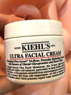 Kiehls ultra facial cream moisturizer