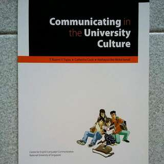 Communicating In The University Culture