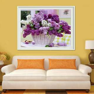🍀DIY 5D Cross Stitch Diamond Painting Embroidery Home Decor🍀