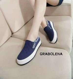 Grabolena Aztec Plimsoll Shoes