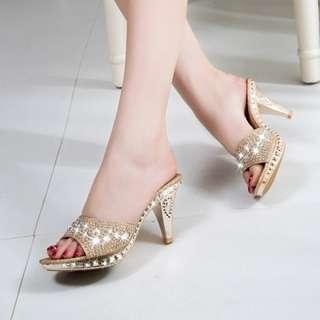 SHH735 Sepatu Pesta Elegan 7CM