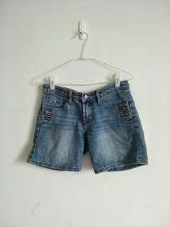 🚚 【泡泡二手衣】百搭五分牛仔短褲