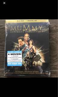 Blu-Ray : The Mummy Ultimate Collection (4 movies)
