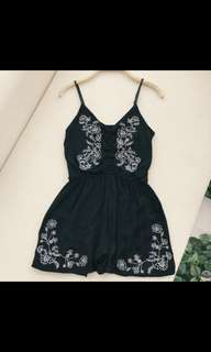 PREORDER Bohemian Embroided Rompee