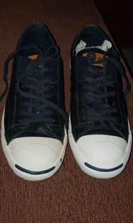 Converse Jack Purcell - Black Leather