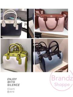 🇺🇸SALE! 💯% Authentic Coach Women Bennett Handbag / Sling / Crossbody Bag Series @ 5 Designs (Pre-Order Now) MUST HAVE!!!