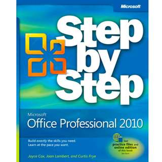 Microsoft Office Professional 2010 Step by Step (1072 Page Mega eBook)
