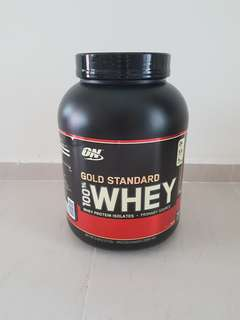 Optinum nutrition ON 5lbs Whey Protein double rich chocolate