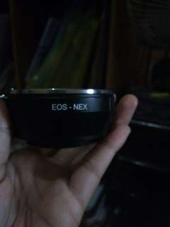 Adapter EOS-NEX (sony)