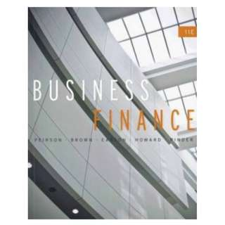 Business Finance (11 Edition) Pierson, Brown, Easton, Howard, Pinder