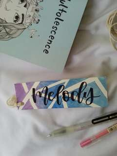 customised bookmarks