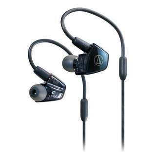 四重平衡電樞入耳式耳塞  ATH-LS400iS(日本製)(不議價)