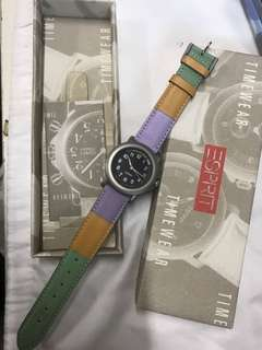 Esprit leather watch