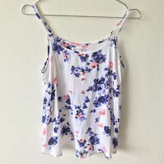 Cotton On Floral Sleeveless Top