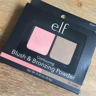 ELF - Conturing Blush & Bronzing Powder Duo (St. Lucia)