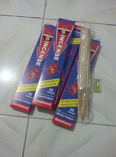 Incense SandalWood Insect repellant