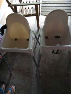 Babychair 2unit for sales