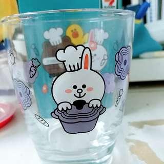 7-11玻璃杯 Cony 花形杯