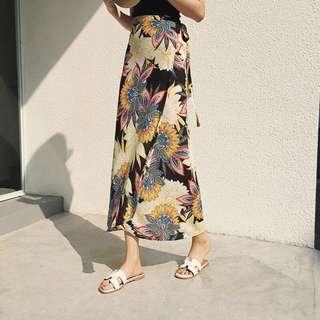 [PO] Printed Maxi Skirt
