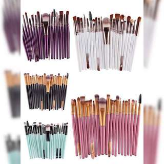 20 Pcs Makeup Brush
