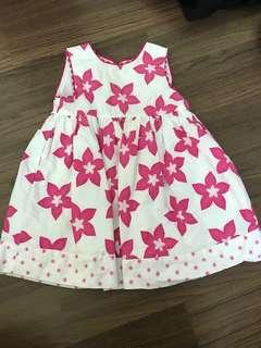 Pumpkin patch babygirl dress