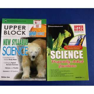 Upper Block Primary 5/6 PSLE Science
