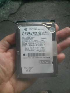 Hitachi 250gb Sata 2.5 Laptop Hardrive