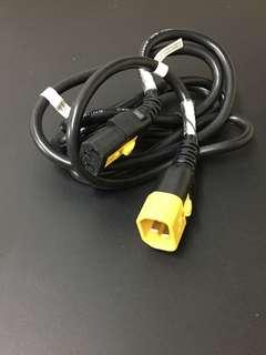1.8M 300V PDU power cord 卡口 電線 延長線