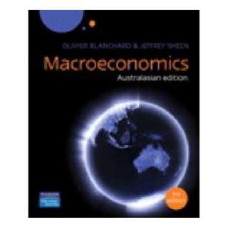 Macroeconomics Australasian Edition (3rd Edition) Olivier Blanchard & Jeffrey Sheen