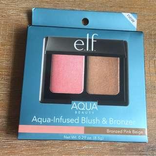 ELF - Aqua Infused Blush & Bronzer (Bronzed Pink Beige)
