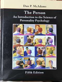 The Person: An introduction to the science of Personality Psychology (5th edition)