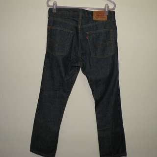 Levi's 505 牛仔褲 (二手) W32 L34