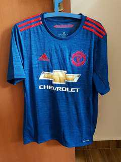 Authentic Man Utd Away Kit