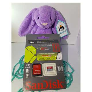 SanDisk 8GB MicroSDHC Card With Adapter (Mobile Ultra)