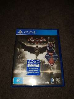 Batman ps4 game