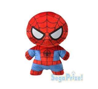🚚 Spider-Man MARVEL Kawaii Art Collection Mega Jumbo Shiny Plush Doll