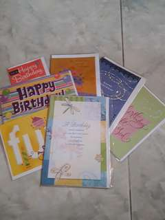 Birthday card/ kartu ucapan