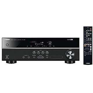 Yamaha sound av receiver amplifier HTR-3067 with subwoofer and speakers