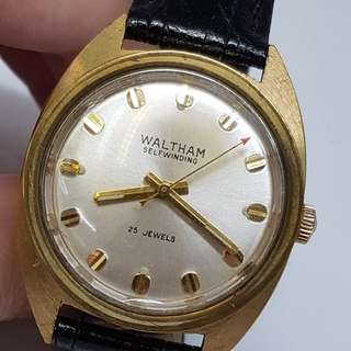 Waltham Self Winding Vintage Watch