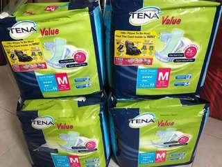 Lampin dewasa TENA adult diapers (M size)