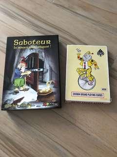 集體遊戲 大撲克牌 Saboteur 掘金遊戲