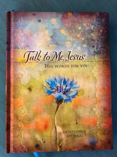 Talk to me Jesus journal book for Christians