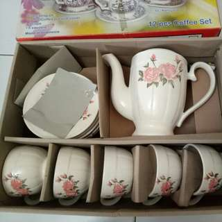 12 pcs Coffee Set
